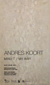 Andres Koort plakat