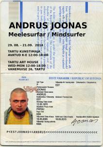 Andrus Joonas plakat