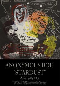 Anonymous Boh Stardust plakat väike