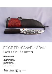 Egge Edussaar-Harak plakat_väike