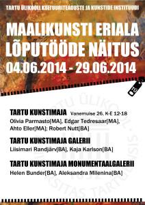 Maalikunsti_kaitsmiste plakat_2014 (1)