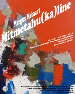 Margus Meinart plakat